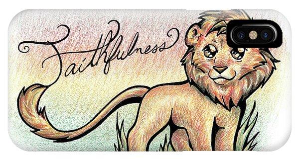 Fruit Of The Spirit Faithfulness IPhone Case
