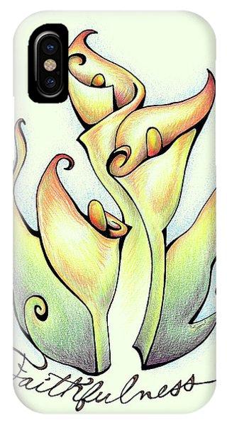 Fruit Of The Spirit Series 2 Faithfulness IPhone Case
