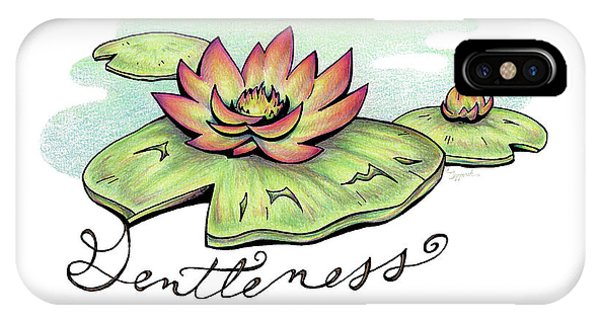 Fruit Of The Spirit Series 2 Gentleness IPhone Case