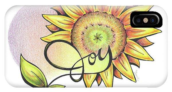 Fruit Of The Spirit Series 2 Joy IPhone Case