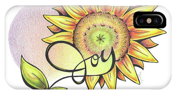 Fruit Of The Spirit Series 2 Joy IPhone Case