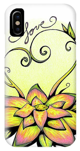Fruit Of The Spirit Series 2 Love IPhone Case