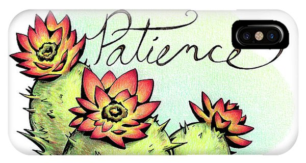 Fruit Of The Spirit Series 2 Patience IPhone Case