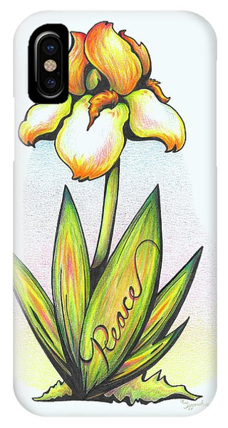 Fruit Of The Spirit Series 2 Peace IPhone Case