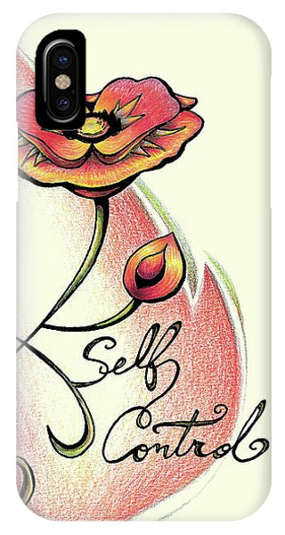 Fruit Of The Spirit Series 2 Self Control IPhone Case