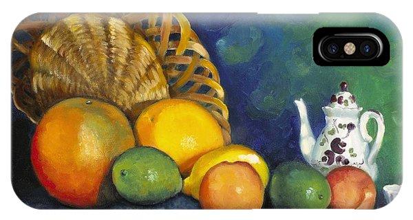 Fruit On Doily IPhone Case