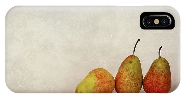 Pear iPhone Case - Fruitful Days by Evelina Kremsdorf