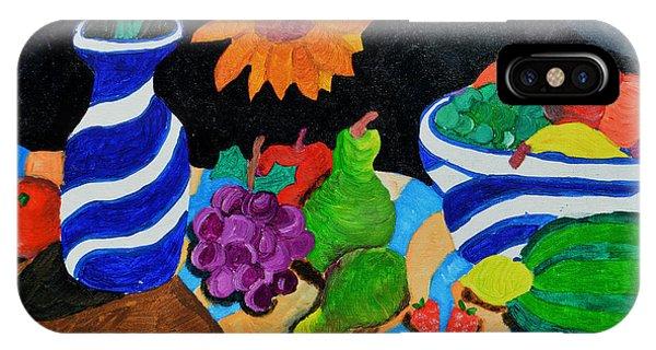 Fruitful Still Life IPhone Case