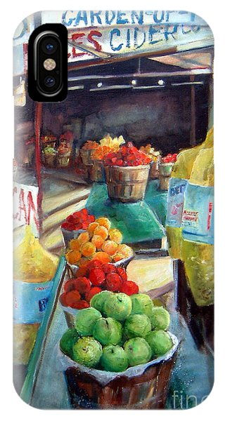 Fruitstand Rhythms IPhone Case