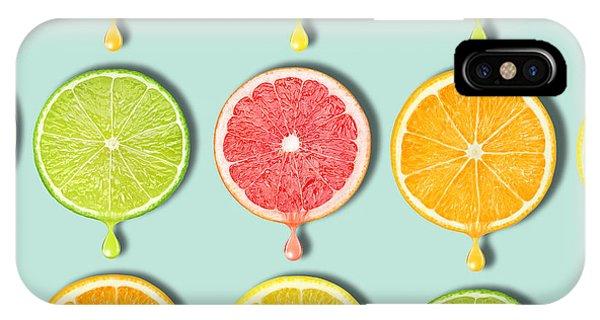 Grapefruit iPhone Case - Fruity by Mark Ashkenazi