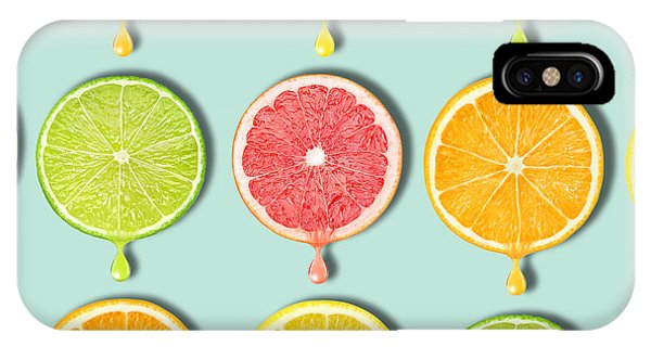 Grapefruit iPhone Case - Fruity by Mark Ashkenazi