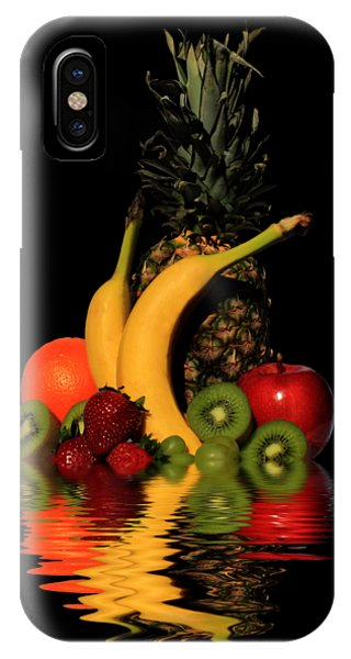 Fruity Reflections - Dark IPhone Case