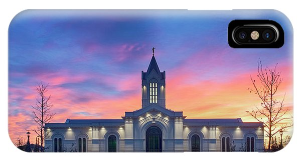 Ft. Collins Temple At Sunrise IPhone Case