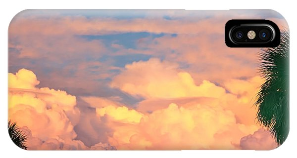 Ft De Soto Sunset Clouds IPhone Case