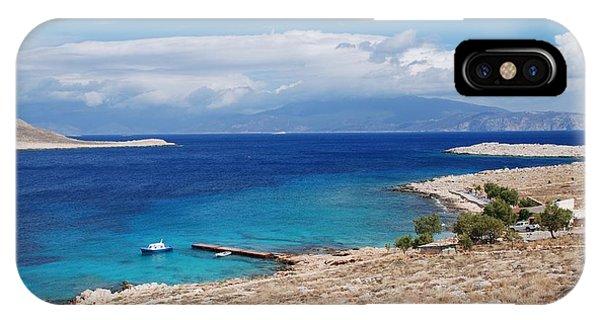 Ftenagia Beach On Halki IPhone Case