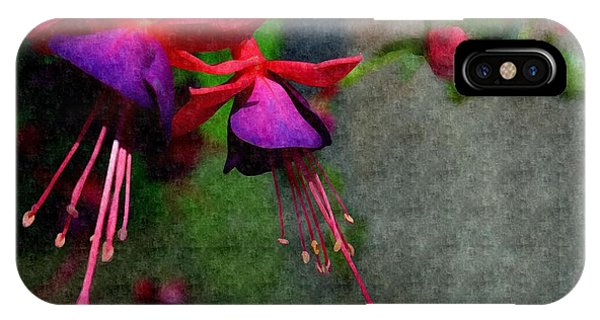 Fuchsia's Beating As One Together -silk Edit IPhone Case