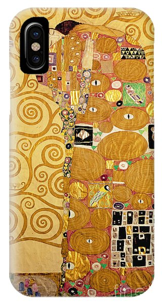 1862 iPhone Case - Fulfilment Stoclet Frieze by Gustav Klimt