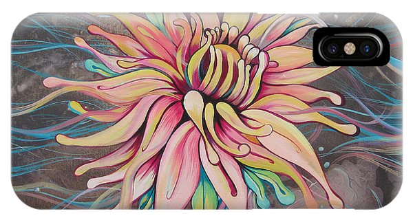 Symmetry iPhone Case - Full Bloom by Shadia Derbyshire