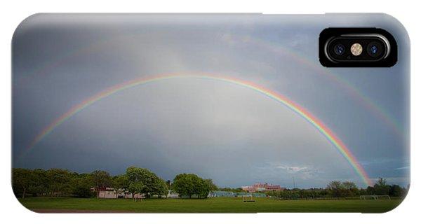 Full Double Rainbow IPhone Case