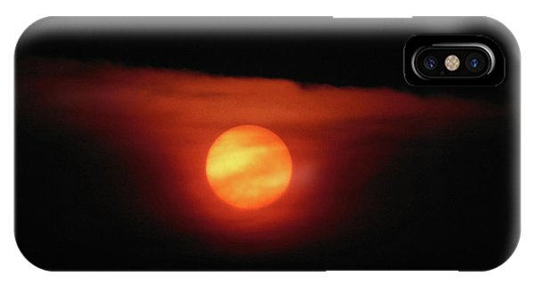 Full Harvest Moon IPhone Case