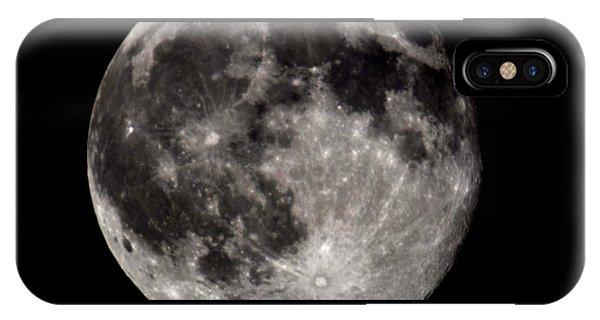 Full Moon 7-31-15 IPhone Case