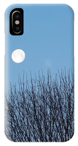 Full Moon At Dawn IPhone Case