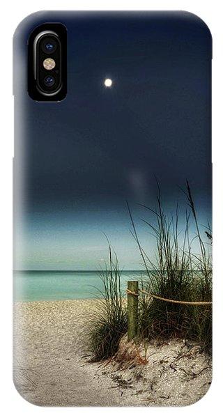Full Moon Beach IPhone Case