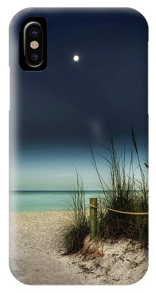 Full Moon Beach IPhone Case