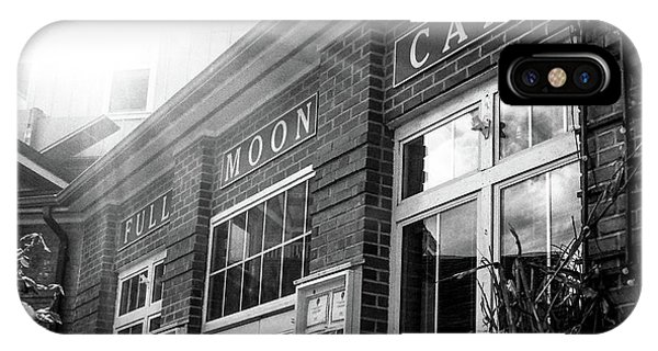 Full Moon Cafe IPhone Case