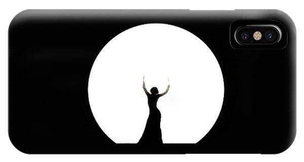Full Moon Dance IPhone Case