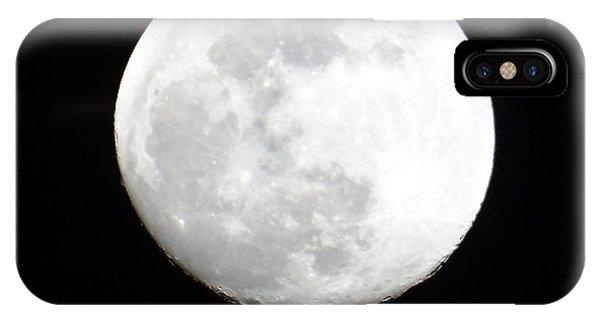 Exploramum iPhone Case - Full Moon by Exploramum Exploramum