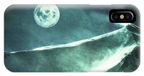Full Moon Flurry IPhone Case