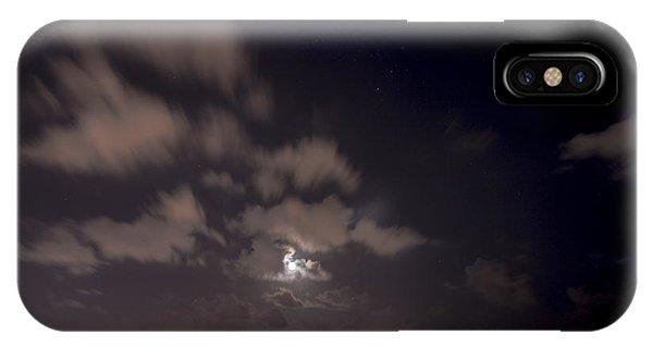 Full Moon In Miami IPhone Case