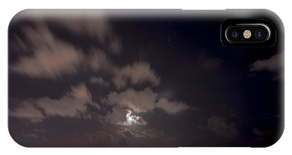 Full Moon In Miami IPhone Case