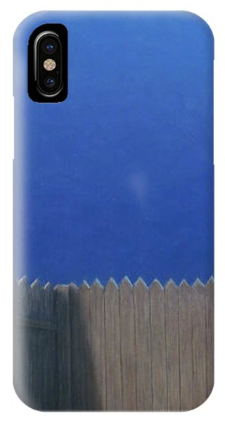 Pup iPhone Case - Full Moon by James W Johnson