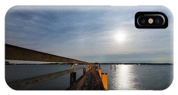 Full Moon Pier IPhone Case