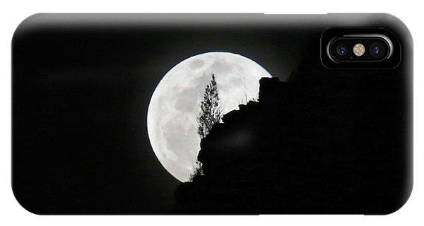 Full Moon Rising Over Makapu'u IPhone Case