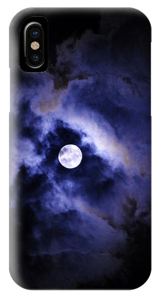 IPhone Case featuring the photograph Full Moon by W And F Kreations