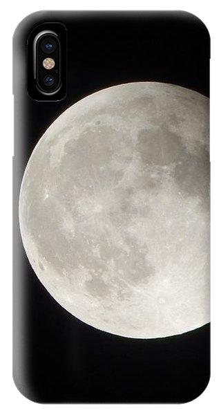 Full Planet Moon IPhone Case