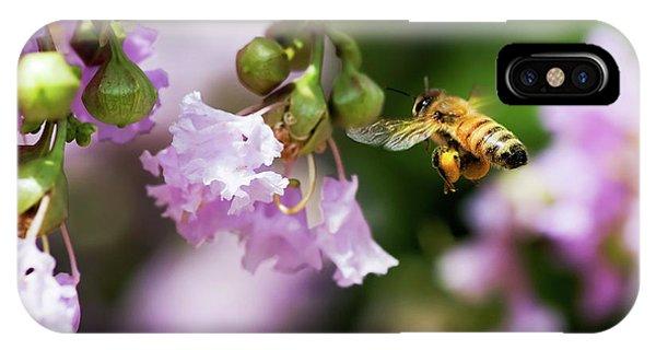 Honeybee iPhone X Case - Fully Loaded by Betty LaRue