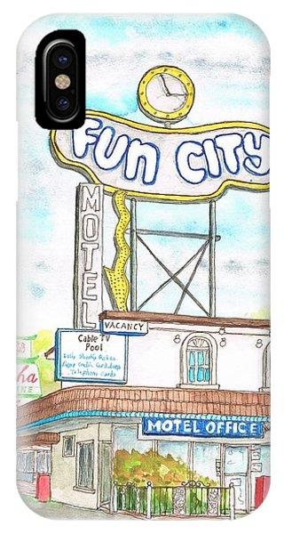 Fun City Motel, Las Vegas, Nevada IPhone Case