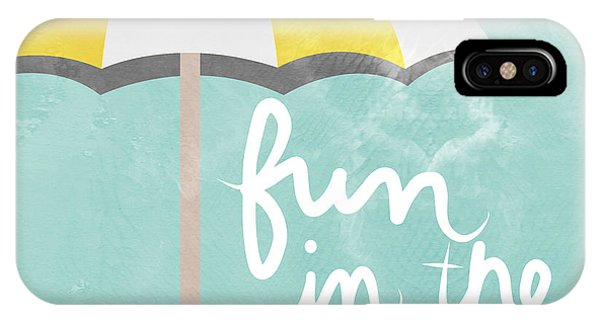 Life iPhone Case - Fun In The Sun by Linda Woods