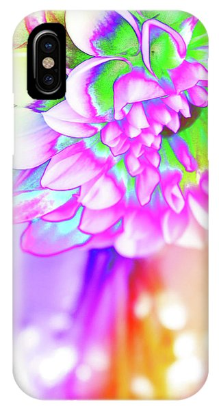 Funky Dahlia IPhone Case