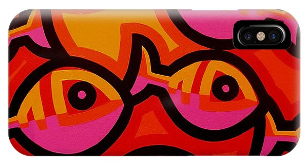 Funky Fish Iv IPhone Case
