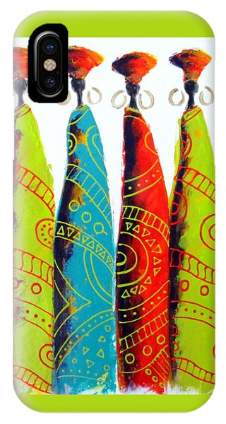 Funky Zulus IPhone Case