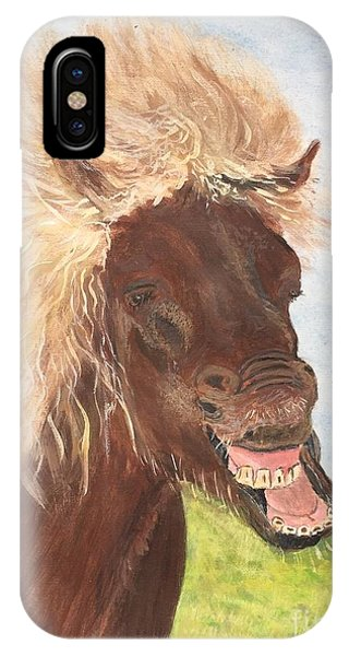 Funny Iceland Horse IPhone Case