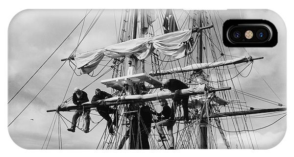 Furling The Sails IPhone Case