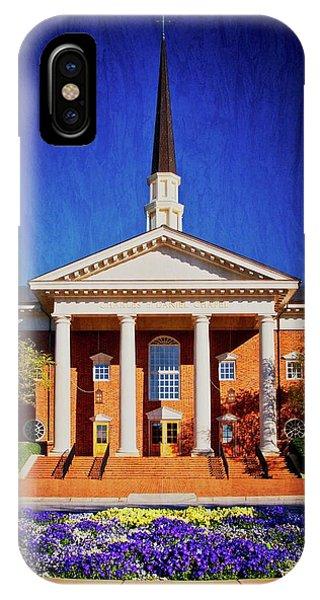 Charles E. Daniel Chapel, Furman University, S.c. IPhone Case