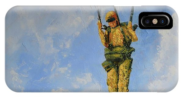 Fury From The Sky  IPhone Case