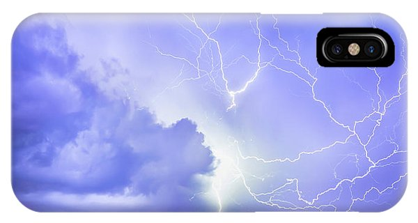Fury Of The Storm IPhone Case